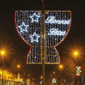 RODE, fabricant français d'illuminations conçoit des motifs de qualité adaptés aux sites des villes